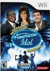 Karaoke Revolution Presents: American Idol Encore per Nintendo Wii