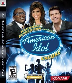 Karaoke Revolution Presents: American Idol Encore per PlayStation 3