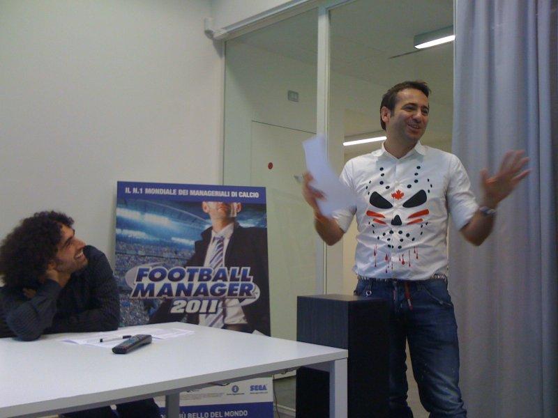 Football Manager 2011 presentato a Milano