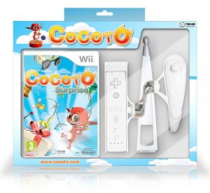 Cocoto Surprise + Canna Da Pesca per Nintendo Wii