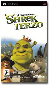 Shrek Terzo (Shrek the Third) per PlayStation Portable