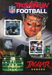 Troy Aikman NFL Football per Atari Jaguar