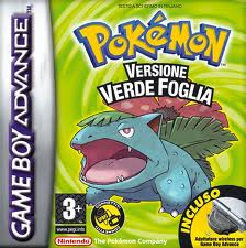 Pokémon Verde Foglia (Pokémon Leaf Green) per Game Boy Advance