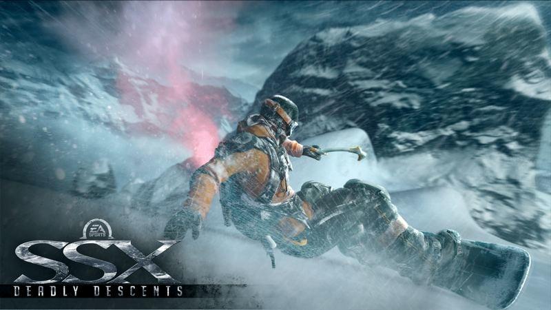 """Il nuovo SSX è """"Burnout sulla neve"""""""
