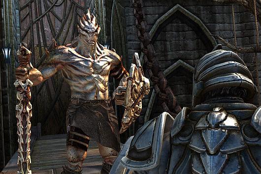 DLC per Infinity Blade, che sarebbe potuto essere un gioco Kinect