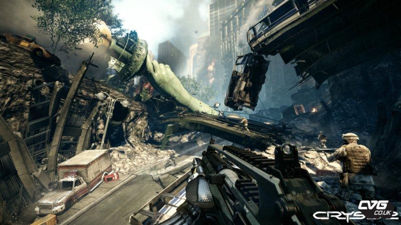 Crysis 2: demo disponibile su Xbox Live