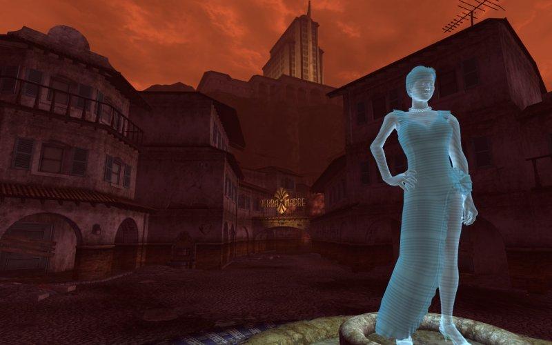 Due immagini da Dead Money di Fallout: New Vegas