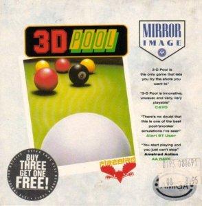 3D Pool per Amiga