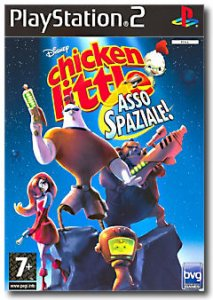 Chicken Little: Asso Spaziale (Chicken Little: Ace in Action) per PlayStation 2