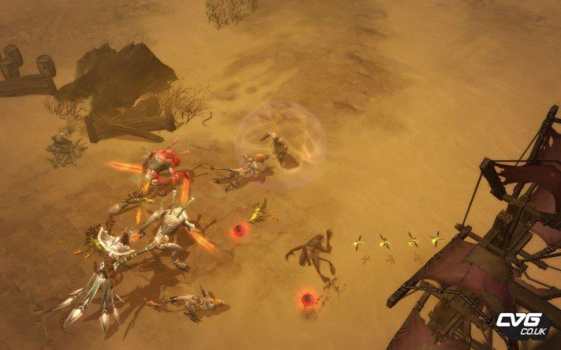 Nuove immagini da Diablo III