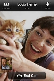 Il nuovo Skype su iPhone consente le videochiamate