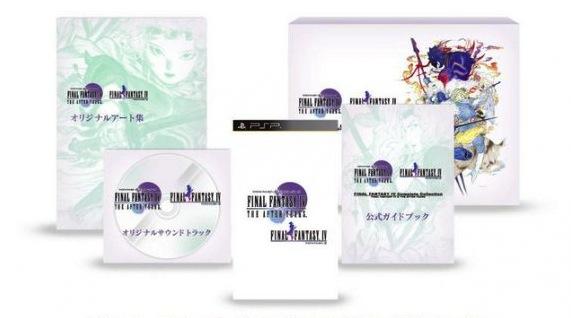 Data e prezzo per Final Fantasy IV: Complete Collection in Giappone