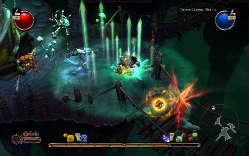 Torchlight disponibile su Xbox Live