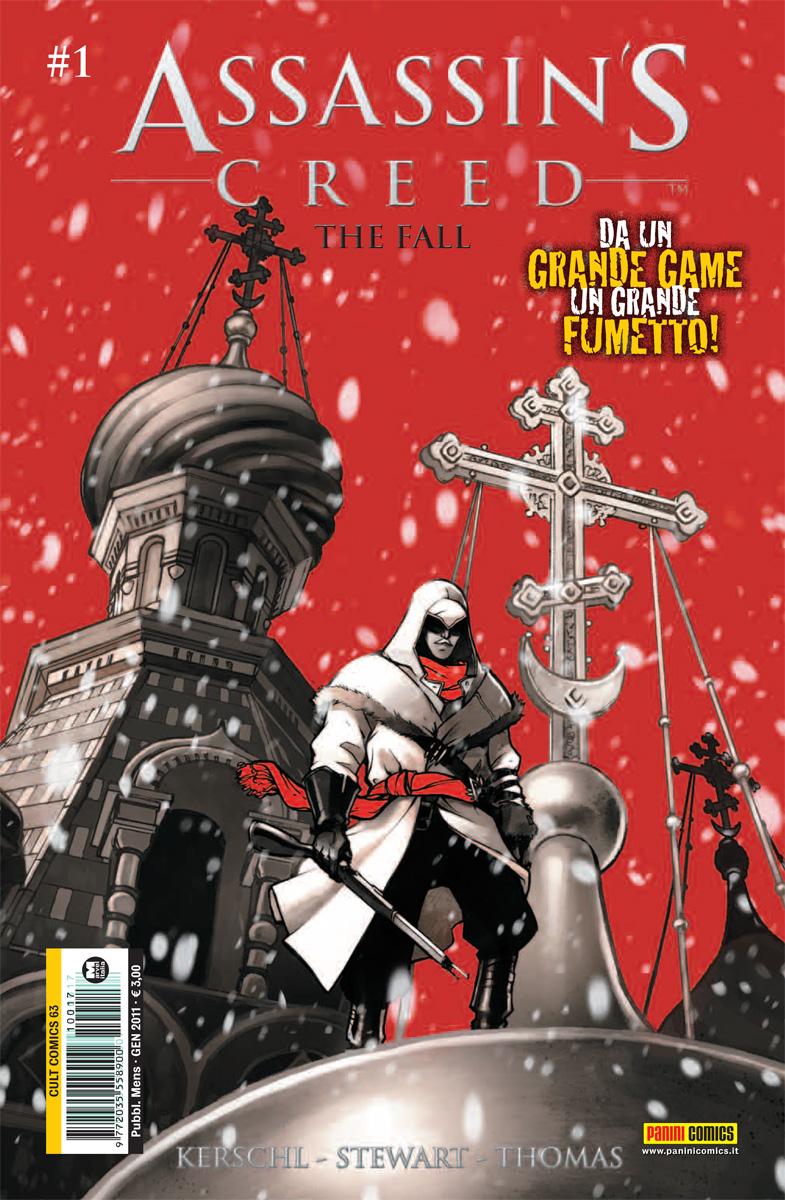 Ubisoft e Panini pubblicano Assassin's Creed: The Fall in Italia