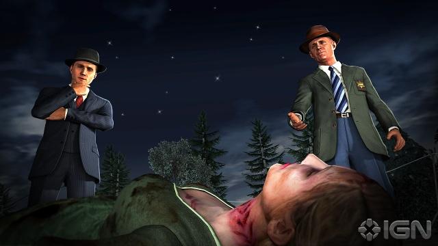 Nuove immagini da L.A. Noire