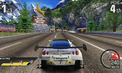 La soluzione di Ridge Racer 3D