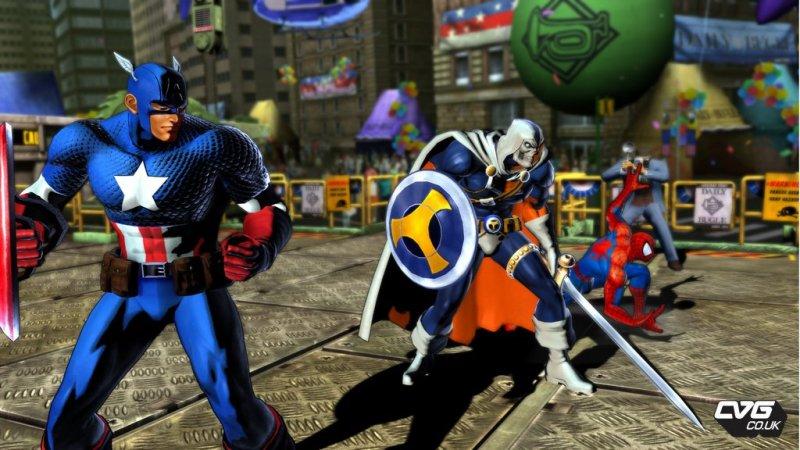 Nuove immagini da Marvel vs Capcom 3