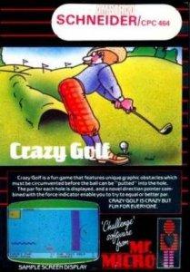 Crazy Golf per Amstrad CPC