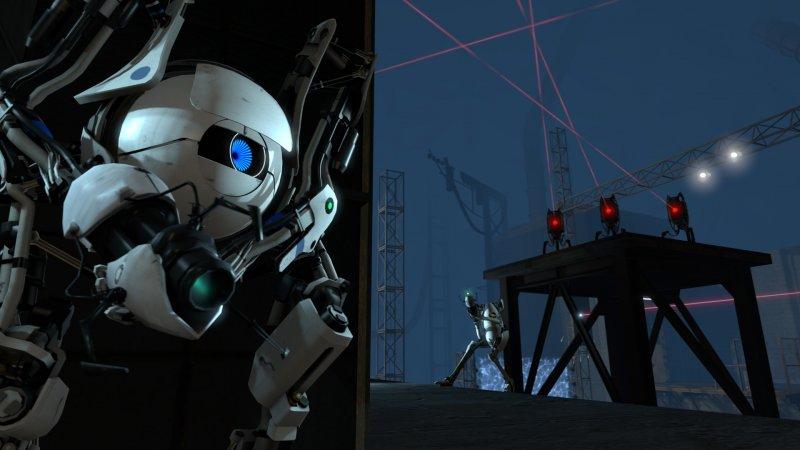Nuove immagini dalla coop di Portal 2