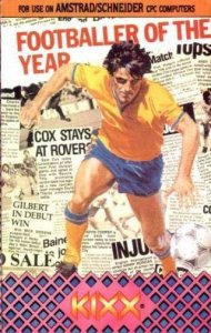 Footballer of the Year per Amstrad CPC