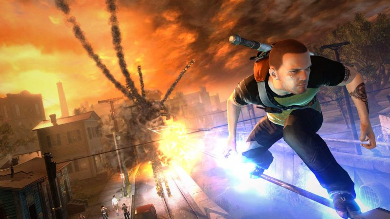 inFamous 2 datato in Giappone