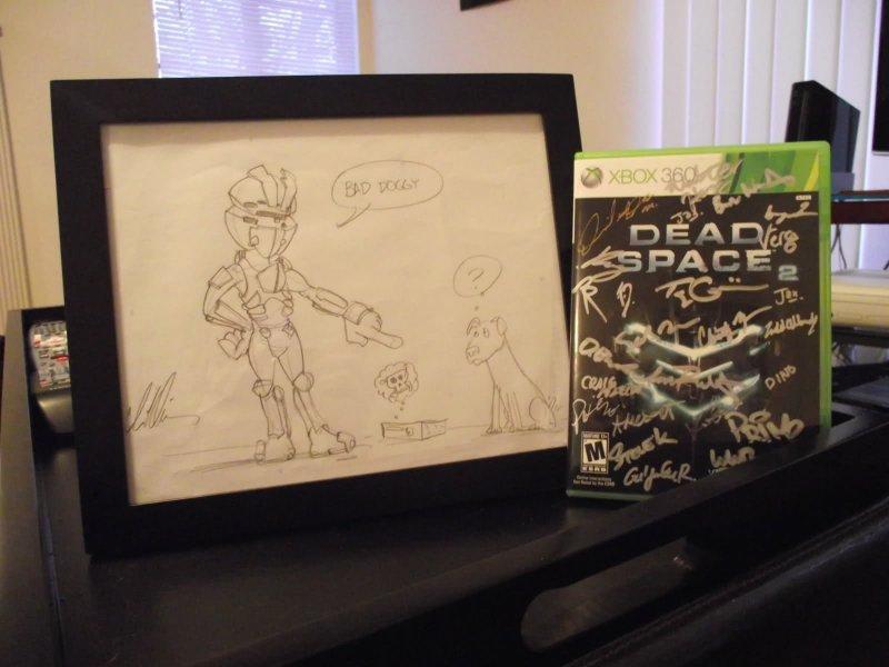 Dead Space 2 - un cane cattivo fa un favore alla padroncina