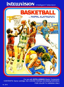 Basketball per Intellivision