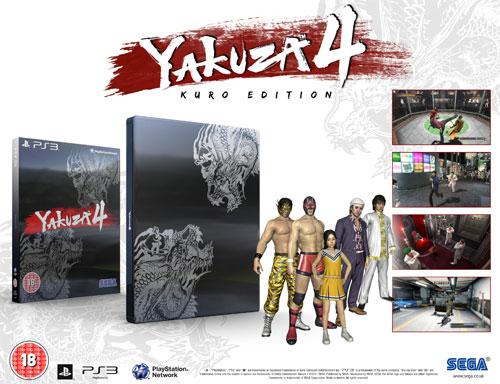 Svelata la Kuro Edition di Yakuza 4