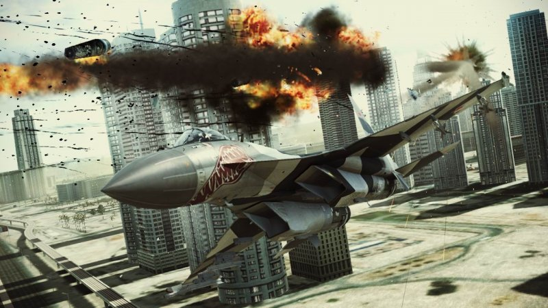 Un concorso su Facebook per Ace Combat: Assault Horizon