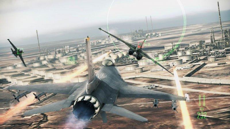 Il team del nuovo Ace Combat ha studiato bene su HAWX