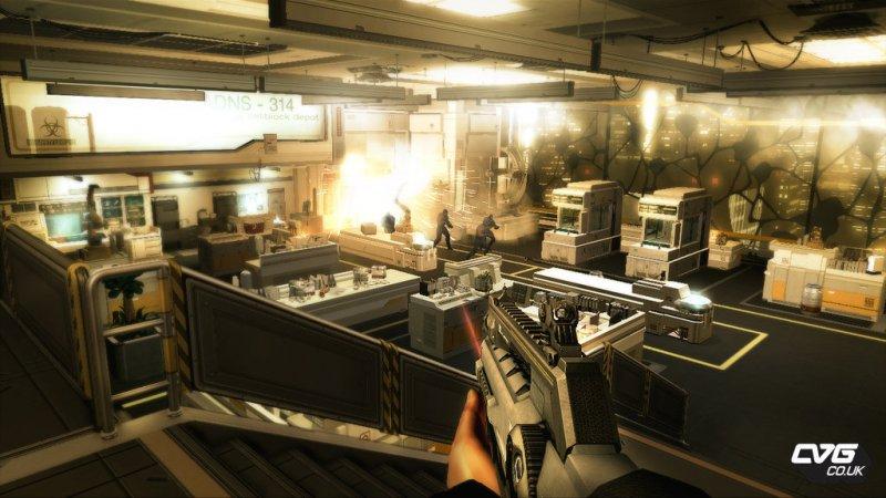 Nuove immagini da Deus Ex: Human Revolution