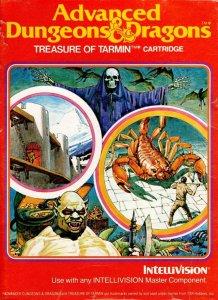 Advanced Dungeons & Dragons: Treasure of Tarmin per Intellivision