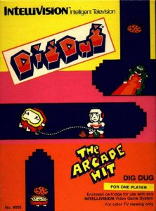 Dig Dug per Intellivision
