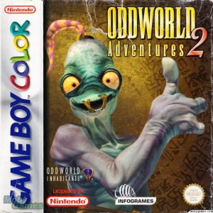 Oddworld: Adventures 2 per Game Boy Color