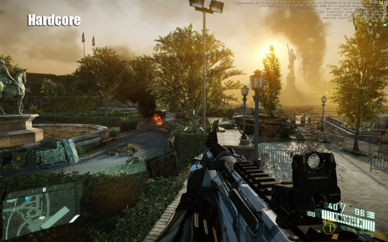 Crysis 2: screen dai settaggi grafici?