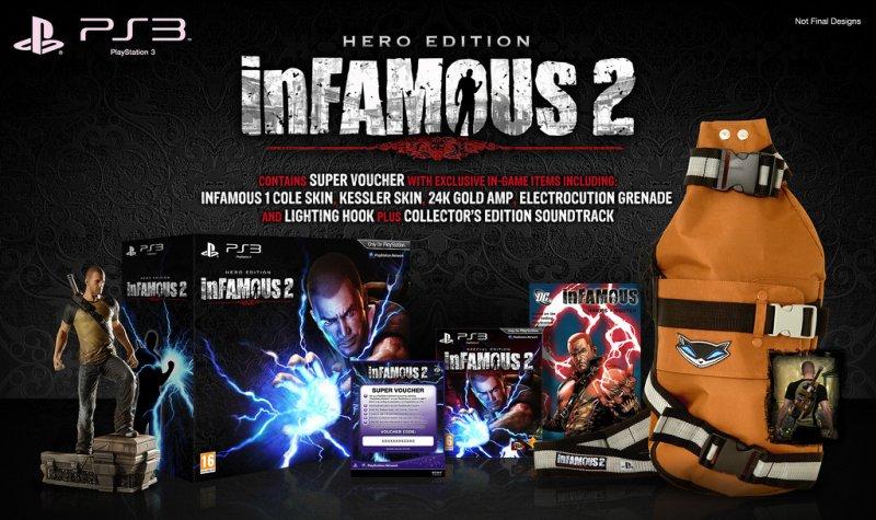 inFamous 2 il 7 giugno in USA, confermate le edizioni speciali
