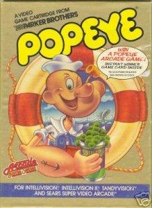Popeye per Intellivision