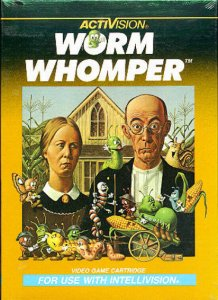 Worm Whomper per Intellivision