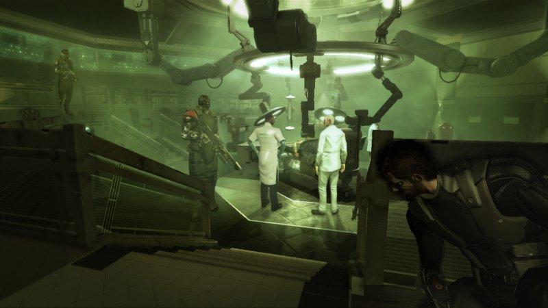 Cascata di screen e video per Deus Ex: Human Revolution