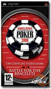 World Series of Poker 2008: Battle For The Bracelets per PlayStation Portable