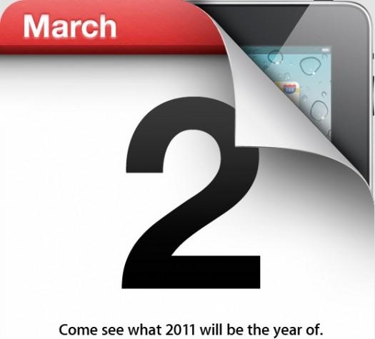 Confermato l'evento Apple per il 2 marzo: iPad 2 in arrivo?