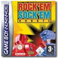 Rock 'Em Sock 'Em Robots per Game Boy Advance
