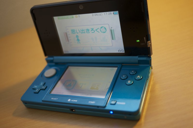 Classifiche giapponesi, Nintendo 3DS in testa