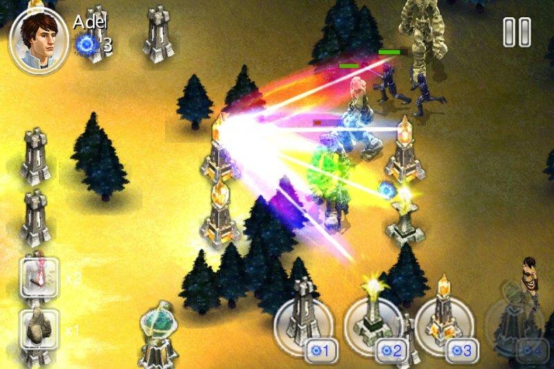 Magia e guerra a difesa della torre