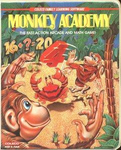 Monkey Academy per ColecoVision