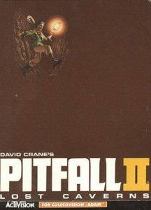 Pitfall II: Lost Caverns per ColecoVision