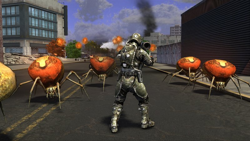 Earth Defense Force: Insect Armageddon è in gold