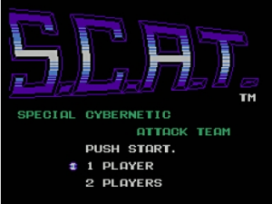 S.C.A.T.: Special Cybernetic Attack Team per Nintendo Wii