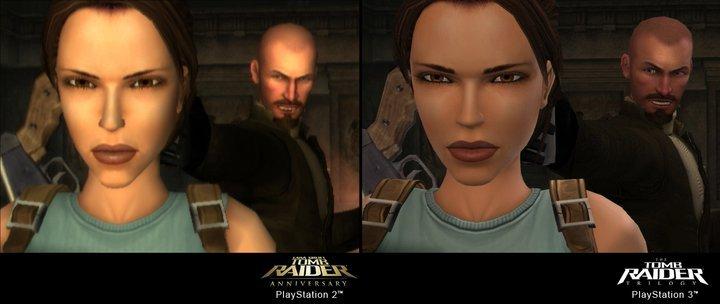 Tomb Raider Trilogy: screen dal salto in HD
