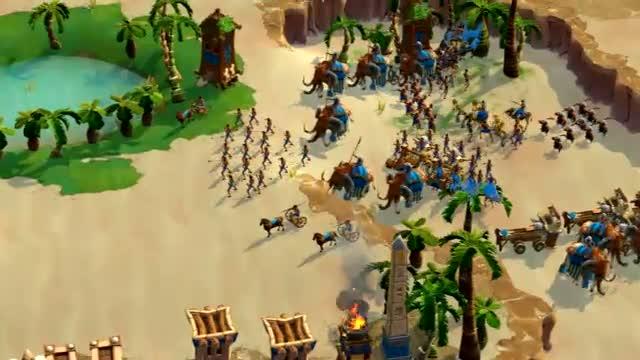 Age of Empires Online disponibile da oggi su Steam